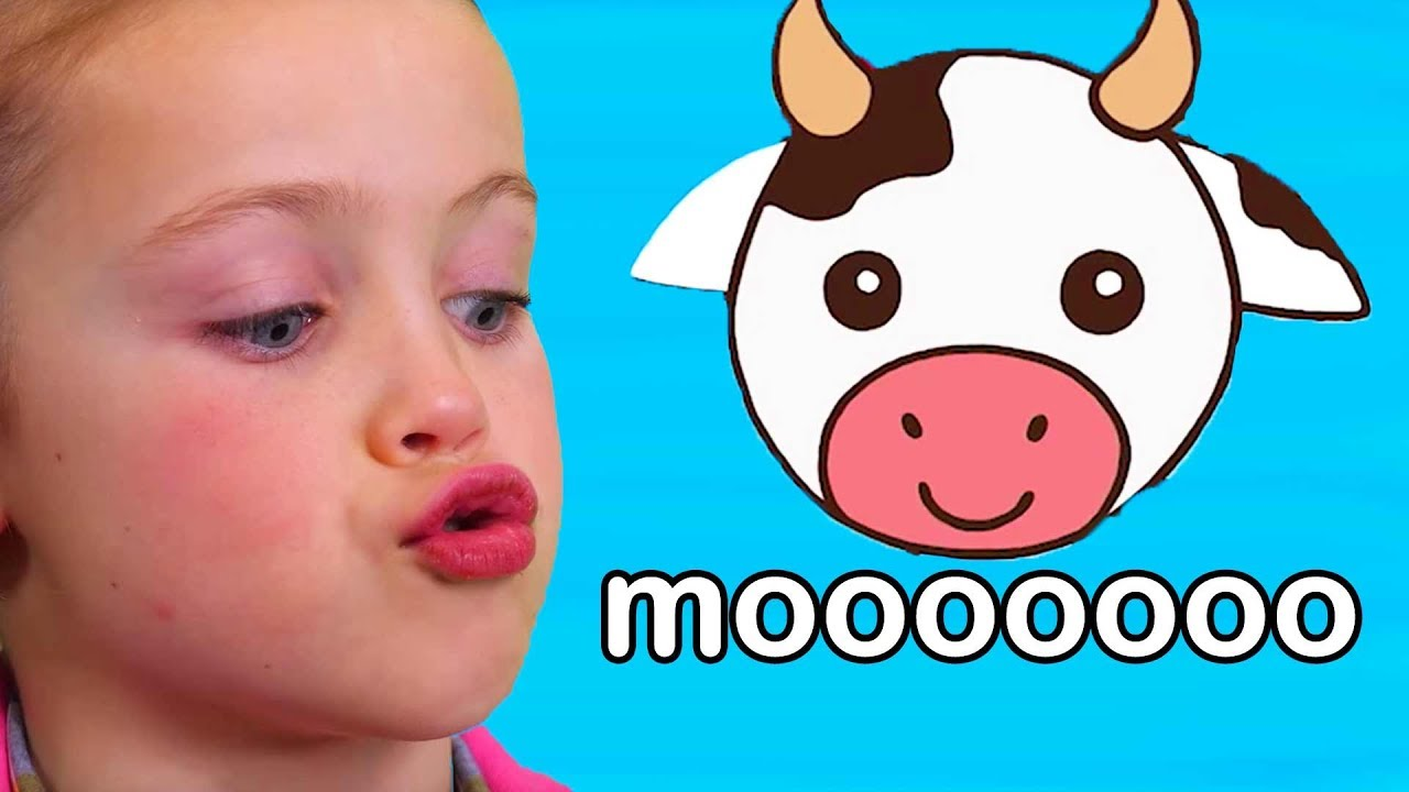 Teaches Animal Sounds | Moo Cow, Old MacDonald, and More ...