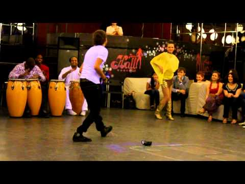 AFRO-CUBAN DANCE Weekend. Rumba solar. Part 4