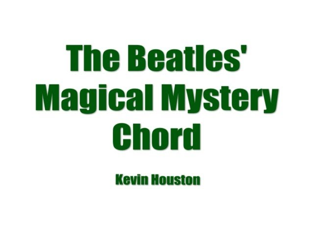 The Magical Mystery Chord Finally Revealed Spin Strangeness