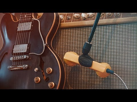 Trash Talk Audio Payphone Mic PP-1 NOS with GUITAR (review)