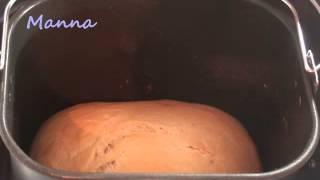 Пшеничный хлеб в хлебопечке Philips HD9046