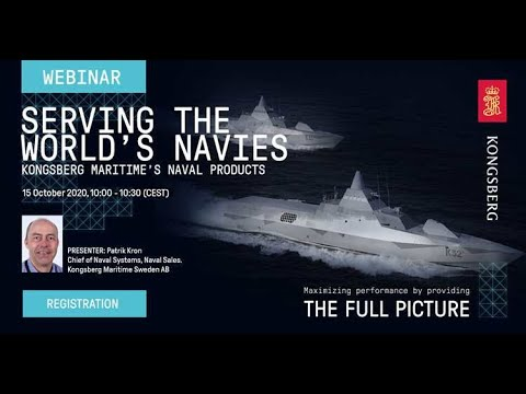 Webinar - Serving the world navies