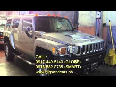 2011 Hummer H3 Luxury Chrome Us Ver Philippines Highendcars