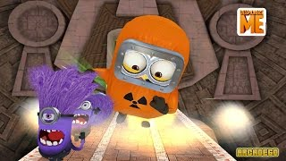 Despicable Me 2 Minion Rush Giant Hazmat Minion vs El Macho and Evil Minions in El Macho's Lair