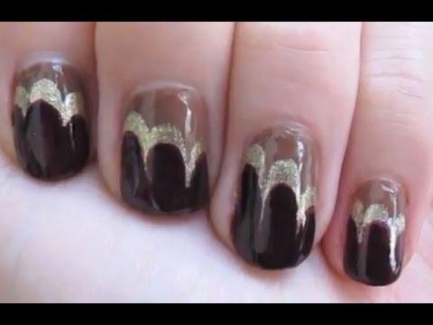 Easy Art Deco Nail Art Tutorial Youtube