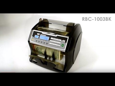 Royal Sovereign High Speed Bill Counter with Counterfeit Detection (RBC-1003BK)
