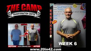 Modesto Weight Loss Fitness 6 Week Challenge Results - David Braga-Paerdes