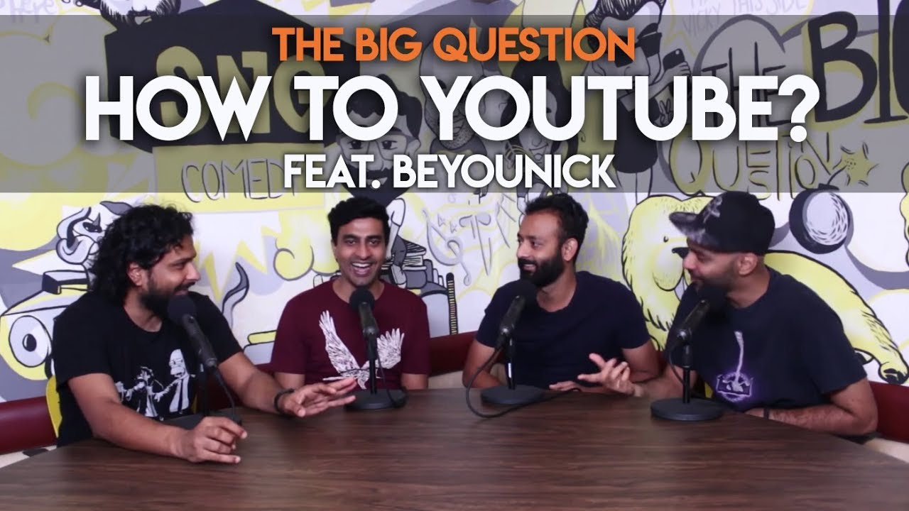 SnG: How To YouTube? feat. BeYouNick | Big Question S2 Ep33