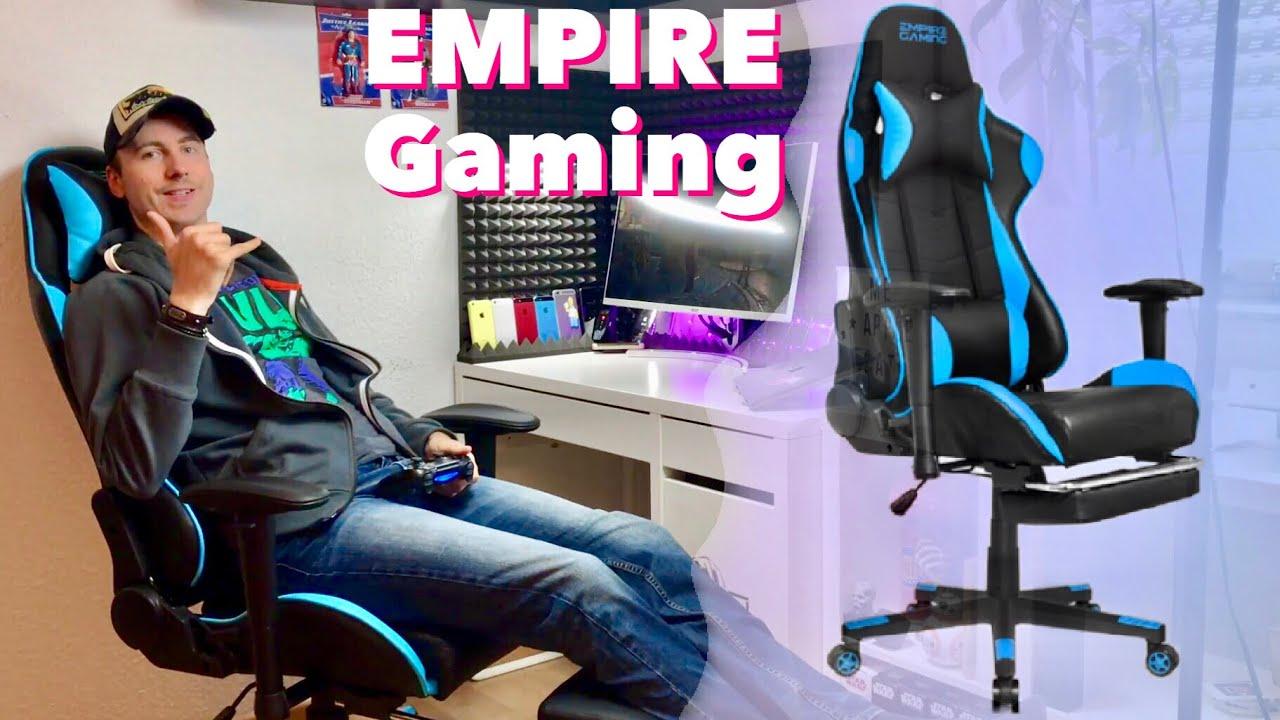 Empire Gaming Stuhl Im Test Spielen Chillen Flachlegen