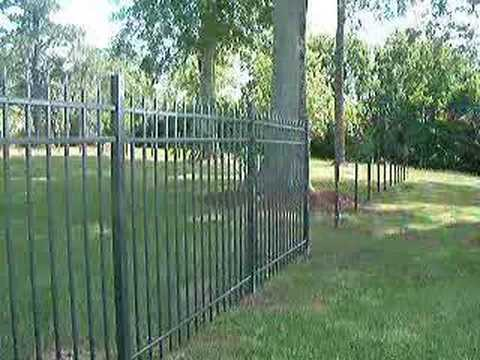 Ultra Easy Fence Installation Youtube