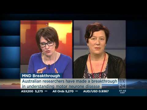 ABC News Breakfast - Blue-Green Algae and Motor Neuron Disease