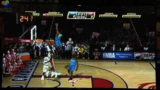 E3 2010 NBA Jam EA Sports Gameplay Demo Thunder VS Cavaliers 1 of 2  [DoS Games]