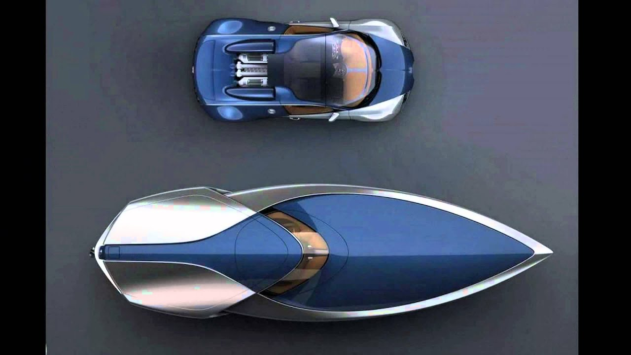 bugatti veyron sang bleu speedboat concept by ben walsh youtube. Black Bedroom Furniture Sets. Home Design Ideas