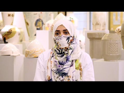 فتاة سعودية تنشئ اول مركز لتدريب فن صناعة الخزف  - نشر قبل 26 دقيقة