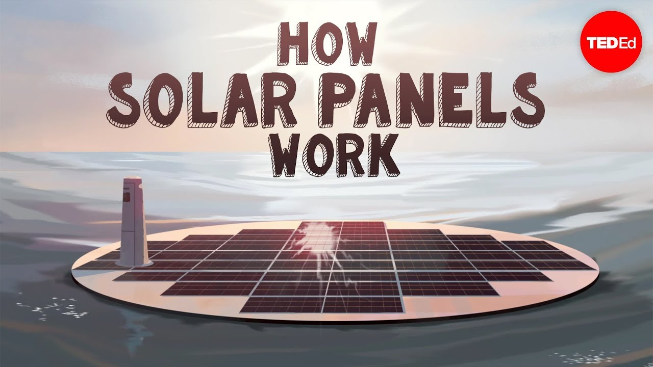 How do solar panels work richard komp youtube for What is solar power for kids