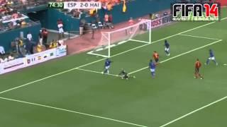 Spain vs Haiti 09.06.2013 all goals and highlights