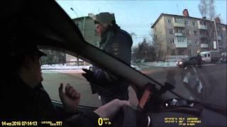 ДПС Нижнего Новгорода в Дзержинске 14.02.2016