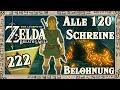 THE LEGEND OF ZELDA BREATH OF THE WILD Part 222: Belohnung für alle 120 Schreine!