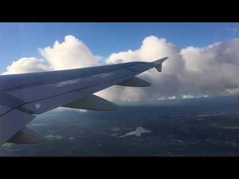 FINNAIR Airbus A319 takeoff at Helsinki Airport