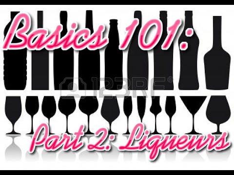 Rockstar BarGirl: Basics 101 Liqueurs