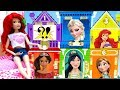 Ariel Disney Princesses Classic Outfits Dollhouse Cosplay Best Dress Up and Matching