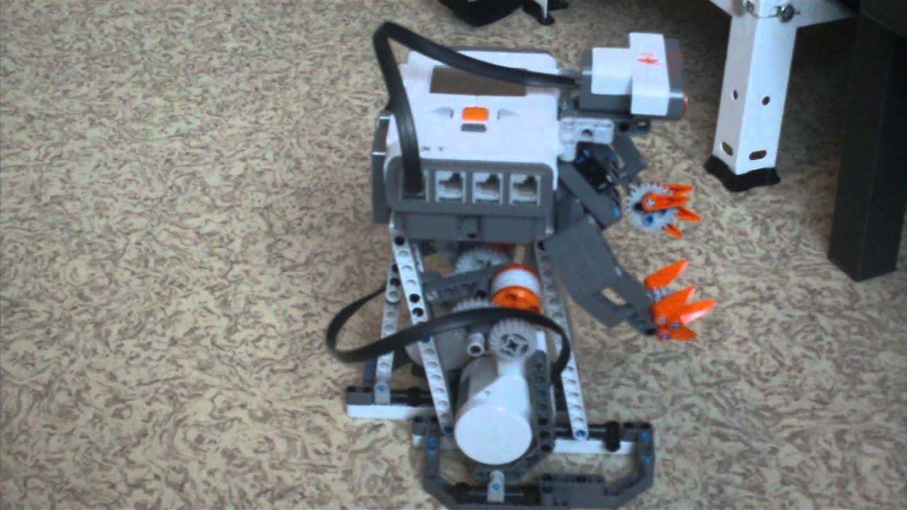 Lego Mindstorms Nxt Omnibiped Walking Robot Youtube