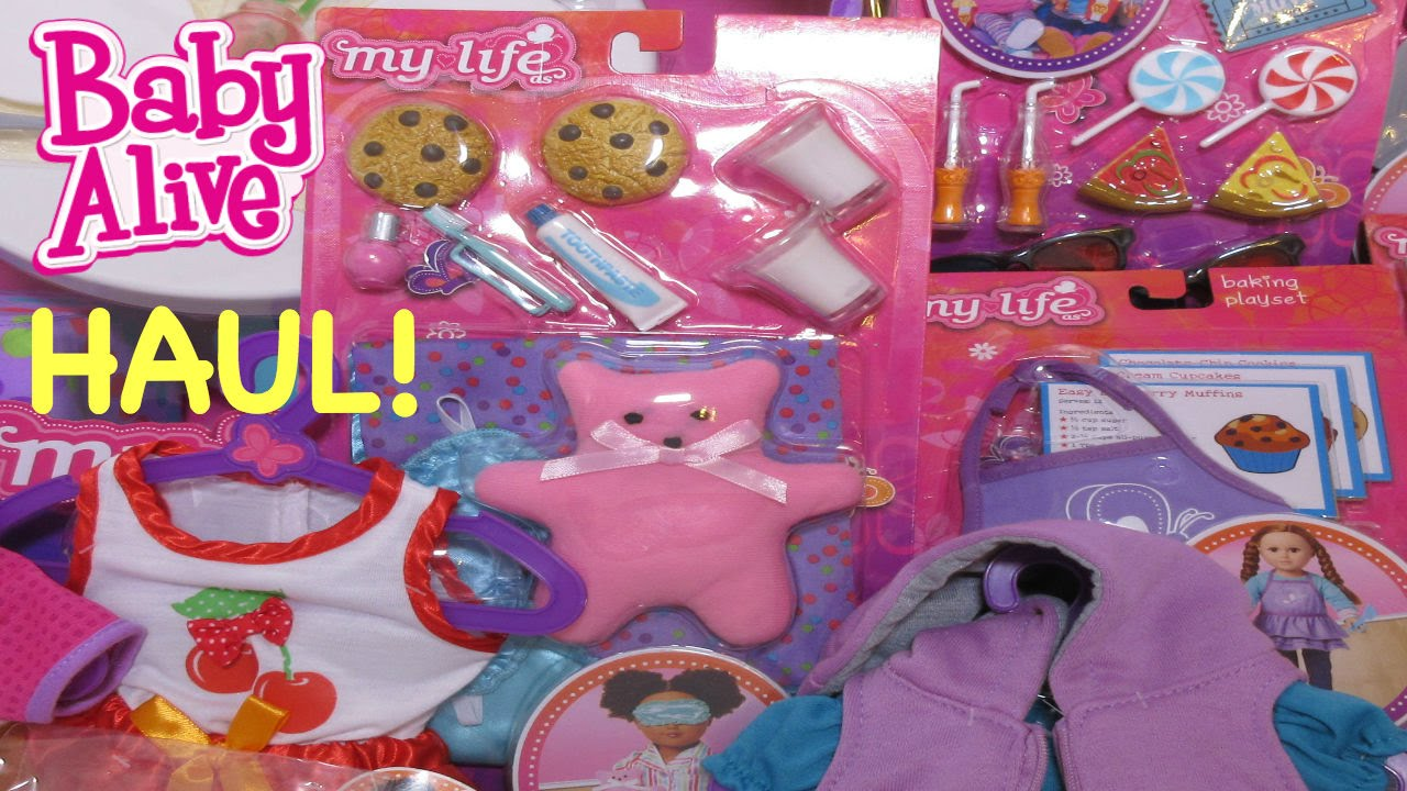 Baby Alive Haul From Walmart My Life As Clothes Accessories For