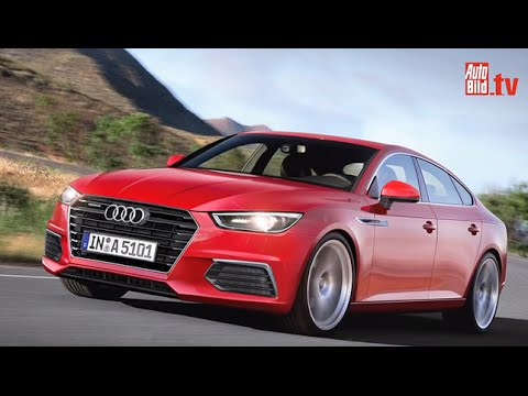 Audi A5 Sportback, A7, A9 (2016-2019) - YouTube