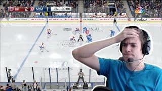 PLAYING NHL 17 WITH THE TRUE BROADCAST CAMERA ANGLE