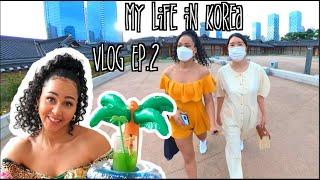 I Speak Korean For 24 hours/A Day In My Life in Korea VLOG ep.2 Incheon Cafe/ Korean Hanok Hotel