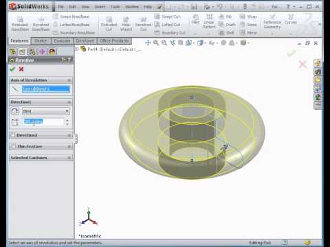solidworks-tutorial---basic-exercise-demonstrating-revolve-and-revolved-cut-features