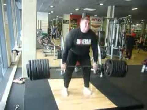 Zydrunas Savickas Deadlift 430 kg | FunnyDog.TV