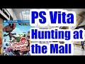 PS Vita Hunting At My Local Mall