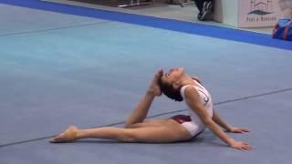 Compétition Départementale Gymnastique 2017 - Célia 12 ans