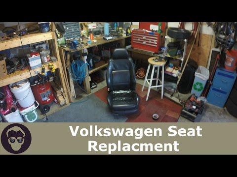 VW Seat Replacement DIY Golf jetta gti MK4