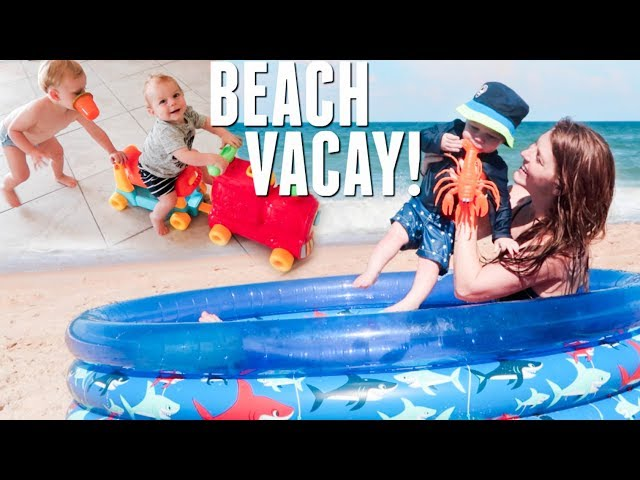 Summer Beach Vacation on 4th of July!