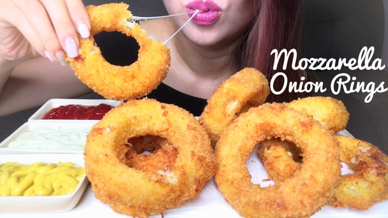 Asmr Best Mozzarella Onion Rings Recipe Eating Sounds No Talking Youtube After watching both my sister. asmr best mozzarella onion rings recipe eating sounds no talking