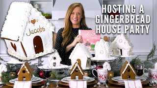 How To Host A Gingerbread House Party | Festive Decorating Ideas | Southern Living