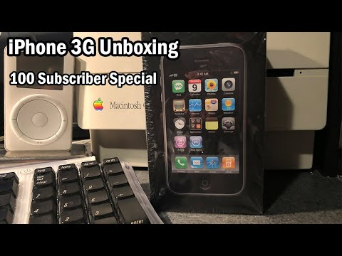 iPhone 3G Unboxing: 100 Subscriber Special!