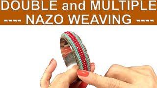 Nazo takı tasarım kursu   İkili ve çoklu Nazo örgü nasıl yapılır -Full-