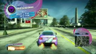Burnout Paradise: The Ultimate Box Xbox 360 Gameplay -