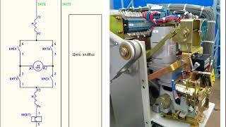 Приложение 21.1. КРУЭ 220 кВ. Схема управления разъединителем.