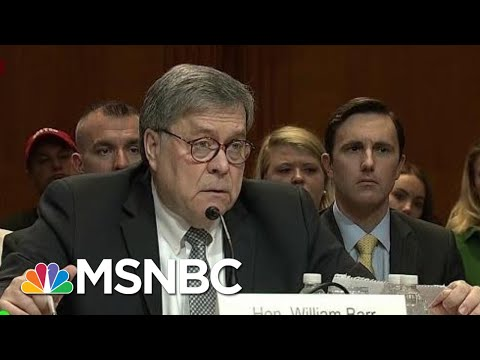 AG Barr Uses His Position To Be President Donald Trump's Roy Cohn   Morning Joe   MSNBC
