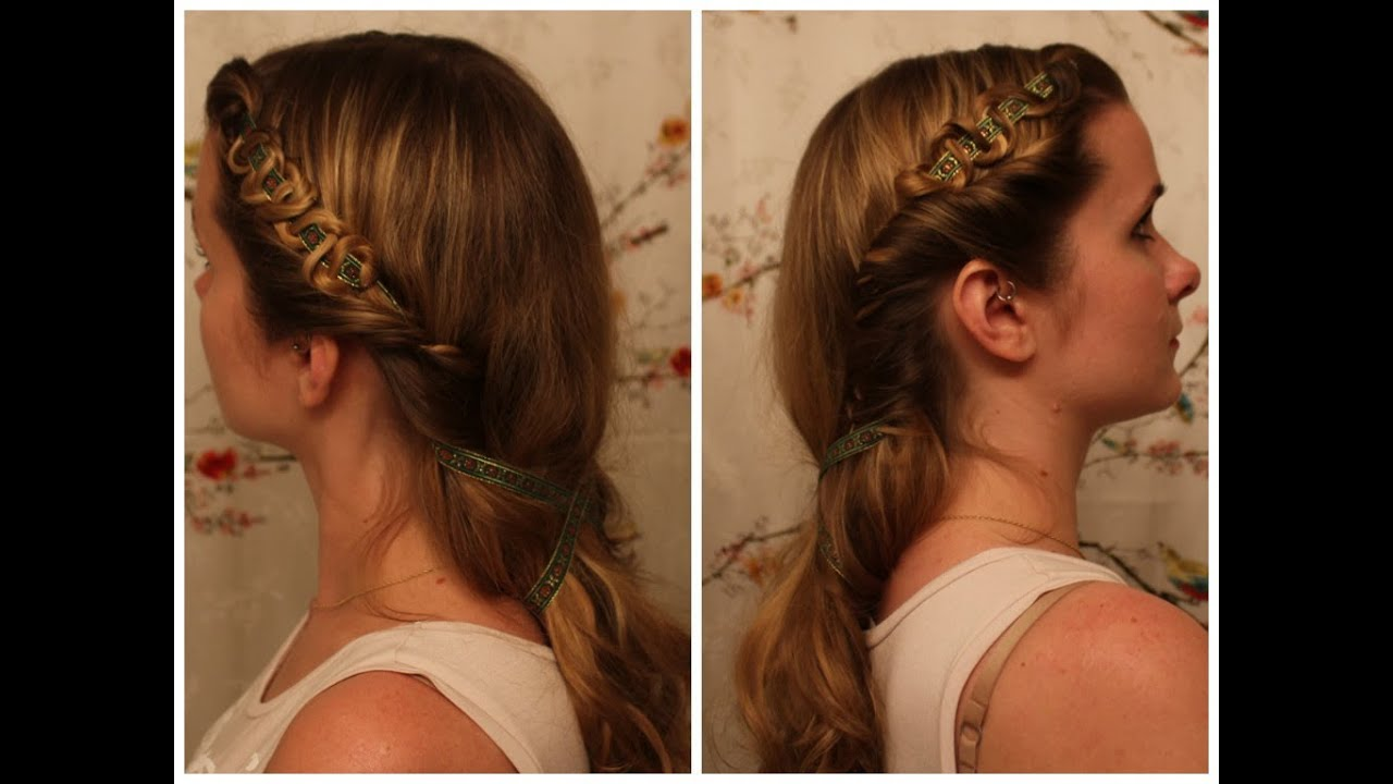 Queen Hairstyles: The White Queen: Isabel Neville Inspired Hair
