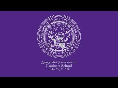 Graduate School   Spring Commencement 2018