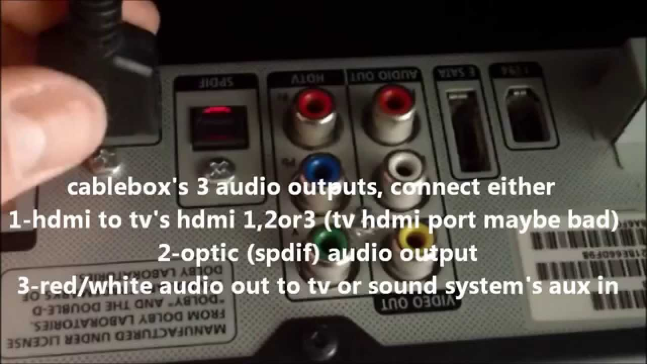 Most Common Fixes For Cable Tv Video Audio Sound Problems Youtube