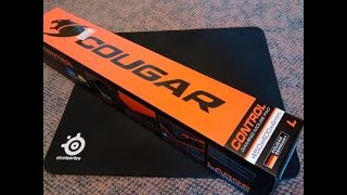 Cougar Control Large Mouse Pad Unboxing & Overview