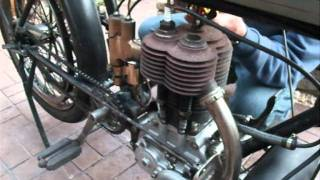 1911 Triumph Starting