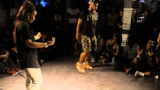 LINDSAY ( BADNESS ) VS SNOOP AKA BOI MIJO (X2BUCK) HIPHOP VS KRUMP BATTLE VOL III 1/2 FINAL