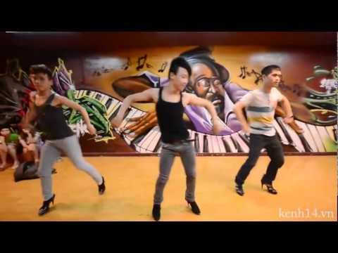 Ba chàng trai nhảy giày cao gót đầu tiên tại Sài thành